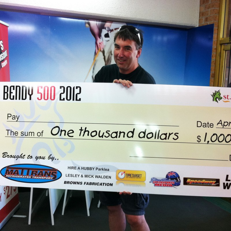 Novelty cheques